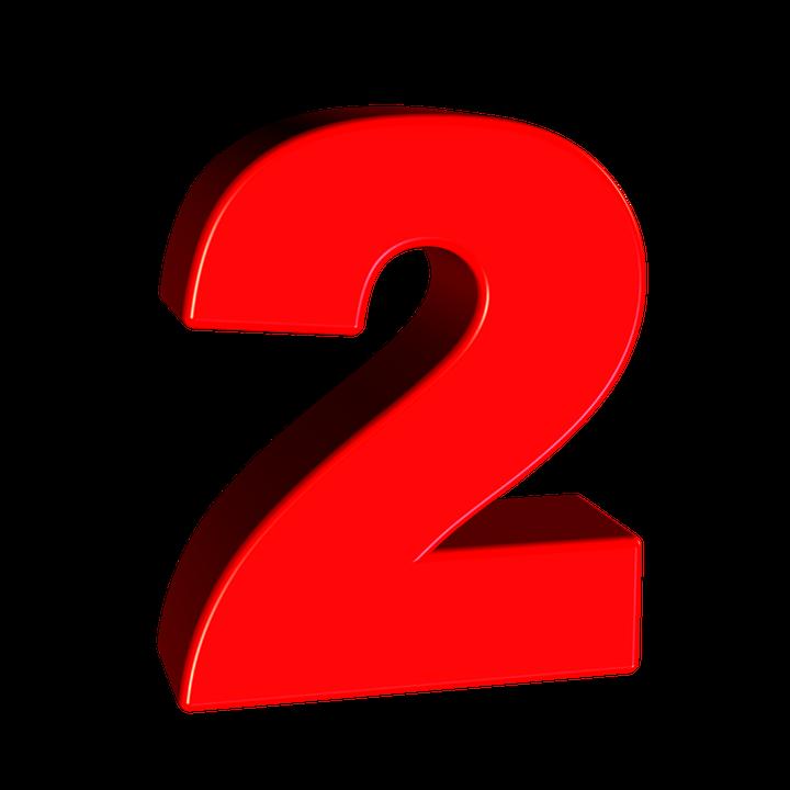 Free Illustration Two Number Digit Font Free Image On - 2