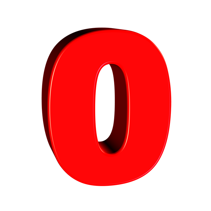Nul Aantal 0 Gratis Afbeelding Op Pixabay