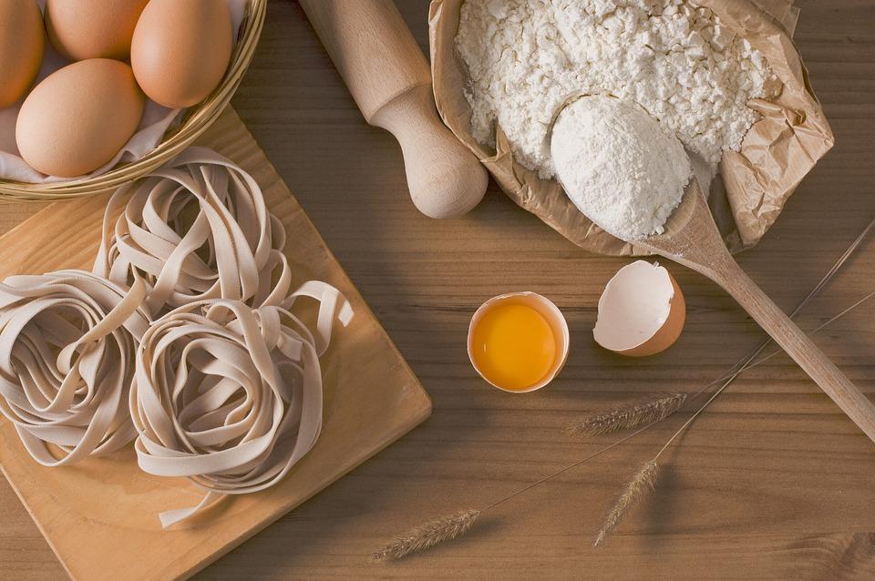 Pasta, Fettuccine, Cibo, Italiano, Gastronomia, Uova, carboidrati insulinici