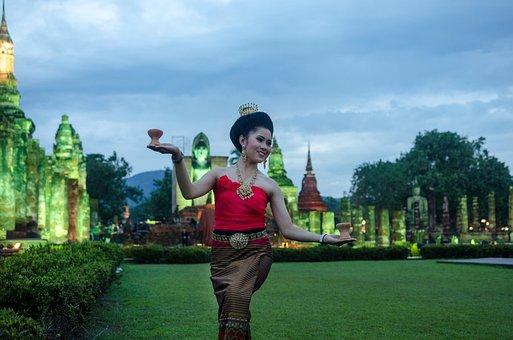 Таиланд, Будда, Счастье, Waman