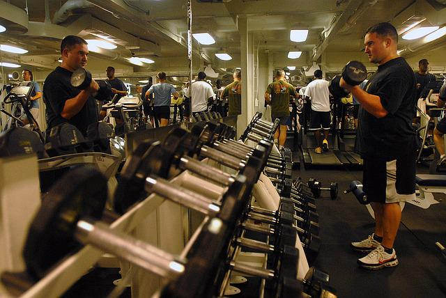 Gym room fitness equipment free photo on pixabay