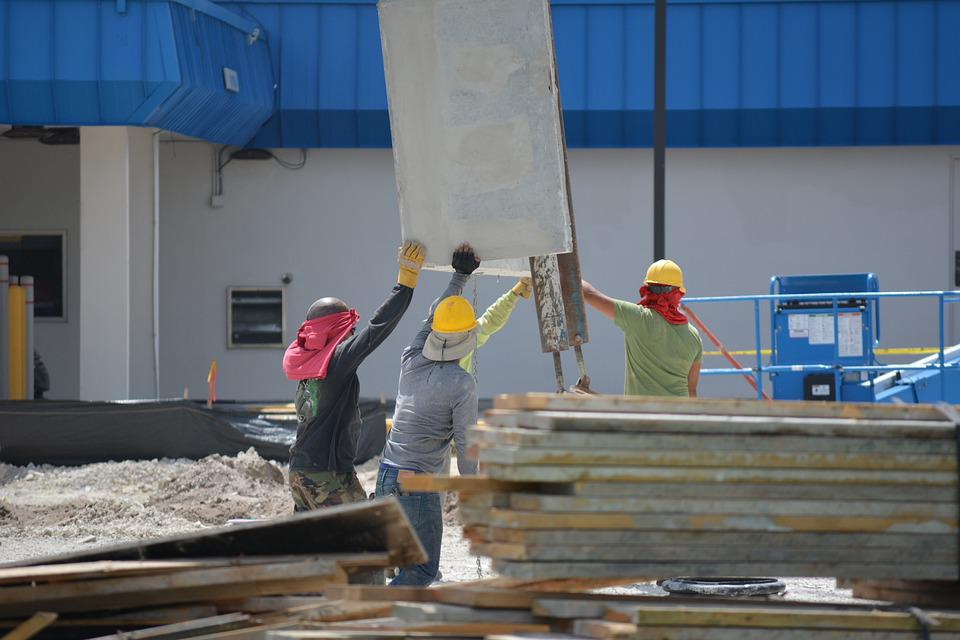 Construction, Construction Workers, Hardhat, Safety
