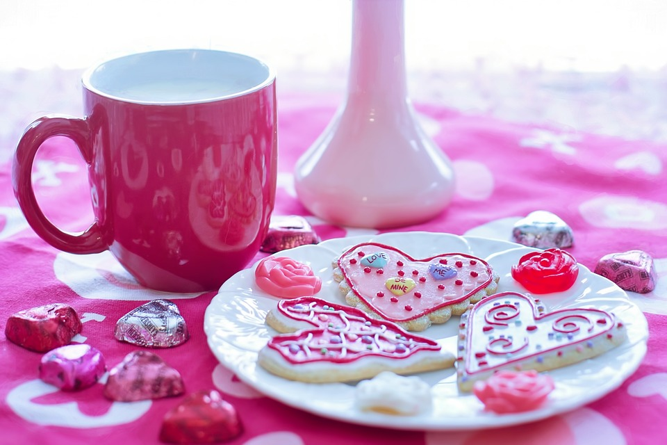 Valentineu0027S Day, Valentine Cookies, Holiday, Love