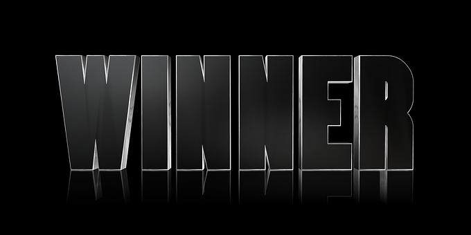 Winner, Success, Success Concept