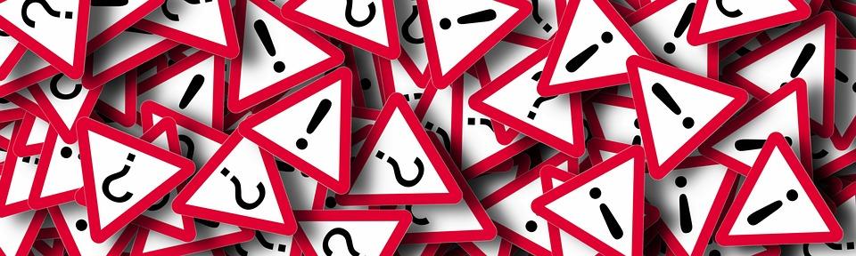バナー, 質問マーク, 質問, 記号, シンボル, 感嘆符, 疑問のあります。