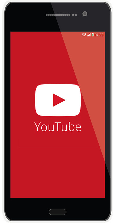 Youtube Mobile Phone Social · Free Image On Pixabay