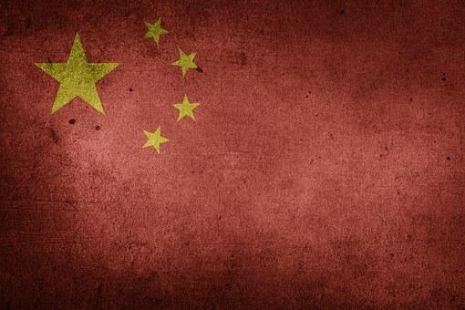 China, Flagge, Vr China, Nationalflagge