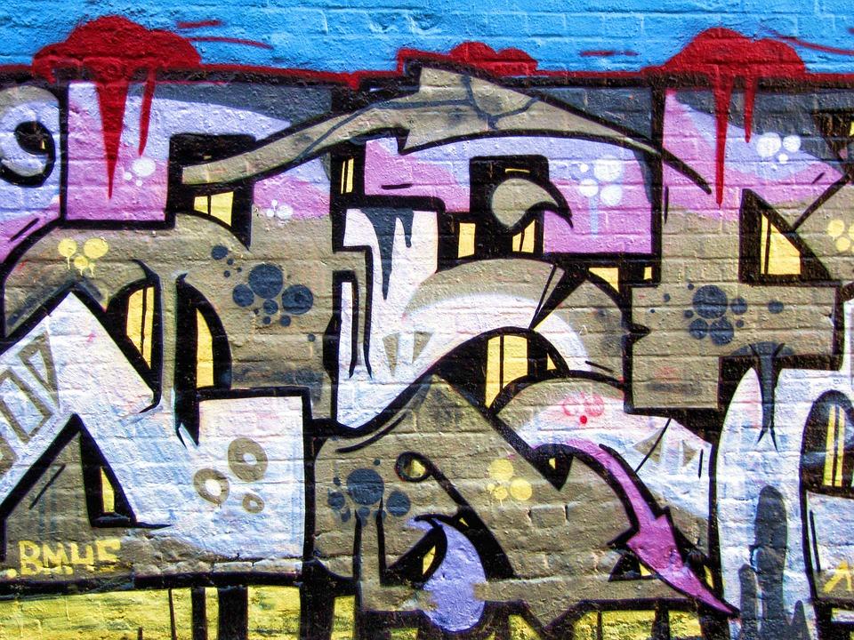 graffiti pintura de la pared aerosol el arte