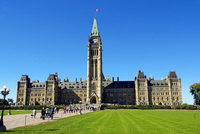 free photo canada ottawa parliament federal free