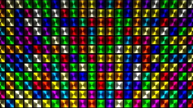 Free Illustration: Cube, Colorful, Background