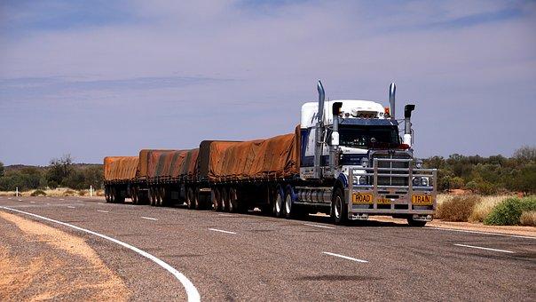 Tren De Carretera, Camión, Australia