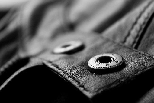 Кожа, Куртка, Одежда, Кнопка
