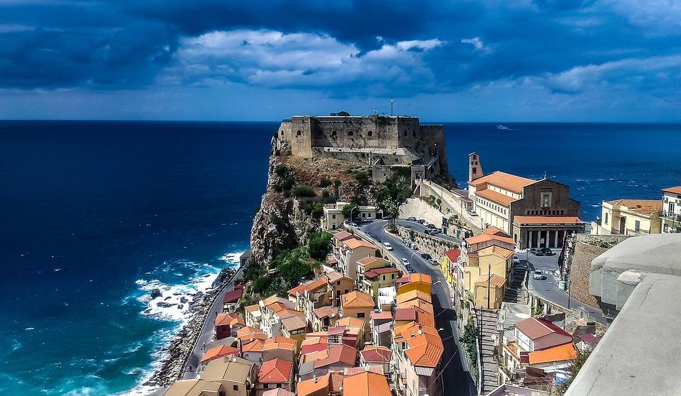 Scilla, Calabria, Italia, Calabria Italia, Mare