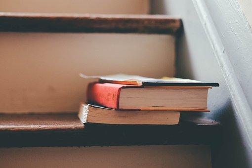 書籍, 階段, 読書, その他のコメント, 研究, 学生, 家事, ブック, 葉