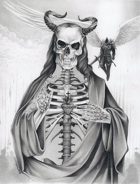 Devil evil demon free image on pixabay - Free evil angel pictures ...