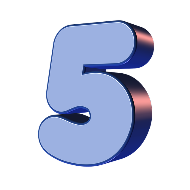 Free Illustration Number Five 5 Digit Free Image On Pixabay 1186418