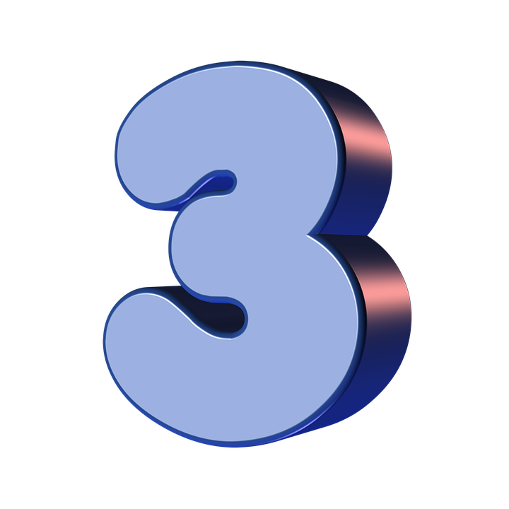 Number Three 3 · Free image on Pixabay on
