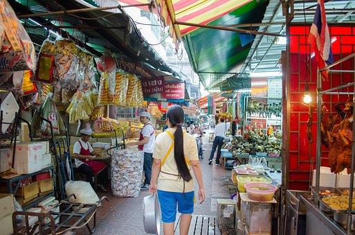 Mercado Chinatown Venta Calle