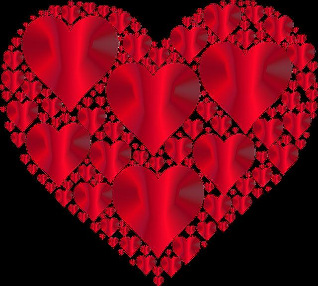 Coeur coeurs 3 l 39 amour images vectorielles gratuites sur pixabay - Dessins coeurs ...