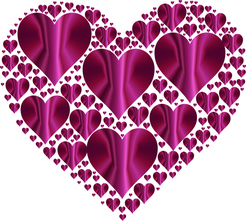 free vector graphic: heart, hearts 3, love, shape - free image on, Skeleton