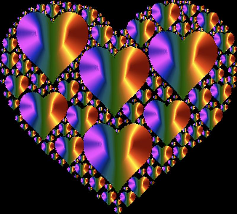 Heart, Hearts 3, Love, Shape, Valentine, Romance
