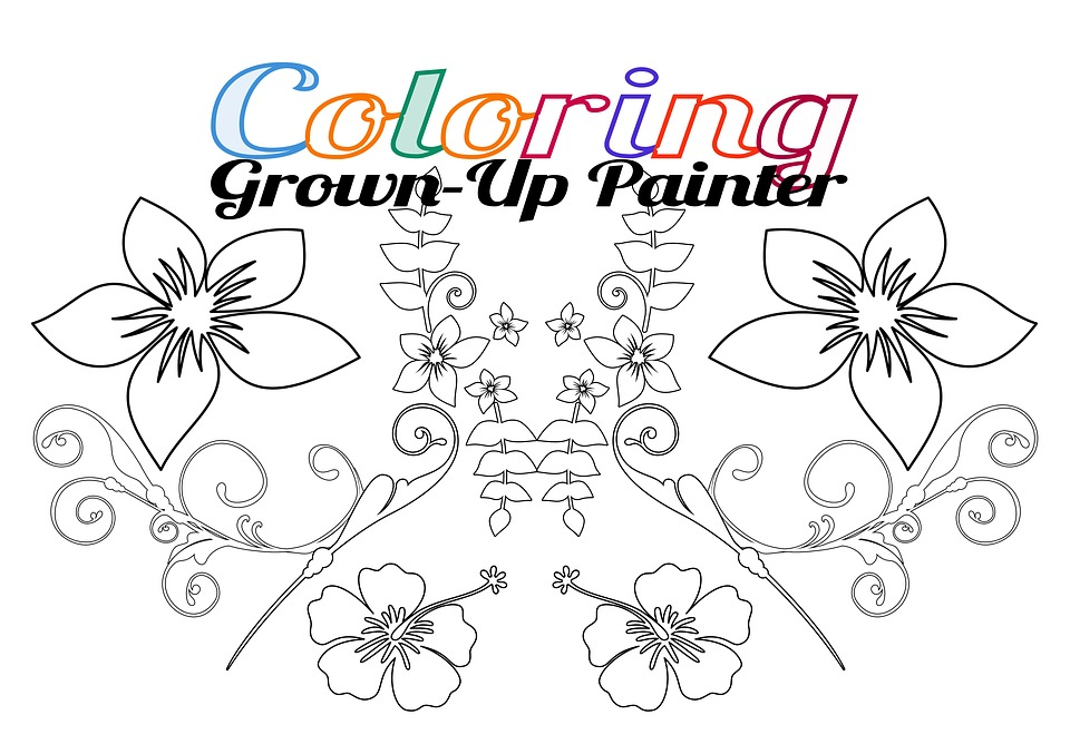 Malen Ausmalen Erwachsene · Kostenloses Bild auf Pixabay