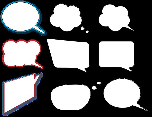 Sprechblasen Comic Sprechen · Kostenlose Vektorgrafik Auf