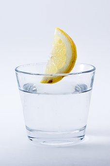 Water, Lemon, Drink, Refreshment, Glass