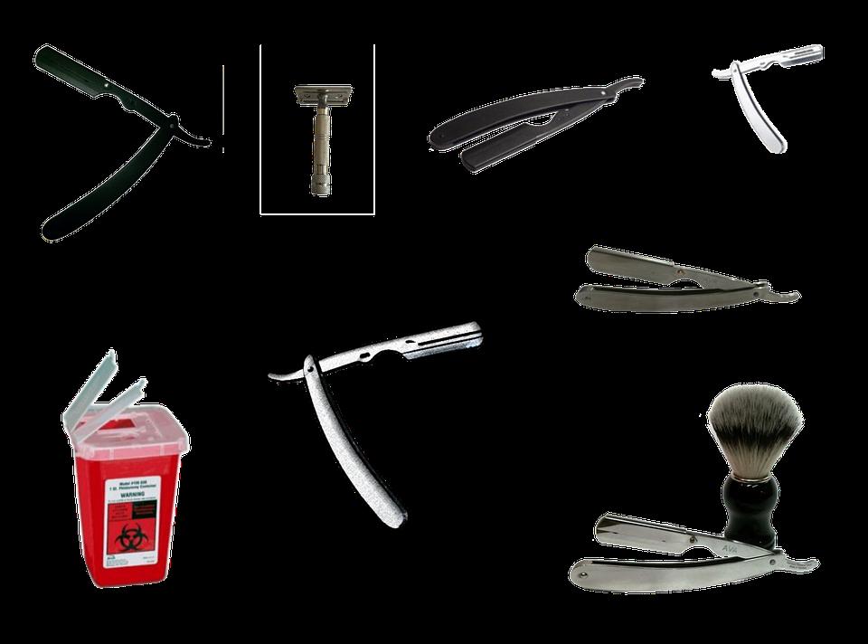 Razor, Shave, Shaving, Hair, Beard, Male, Hygiene, Face