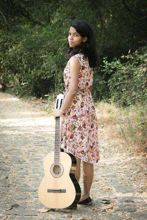 Girl Guitar Music 183 Free Photo On Pixabay