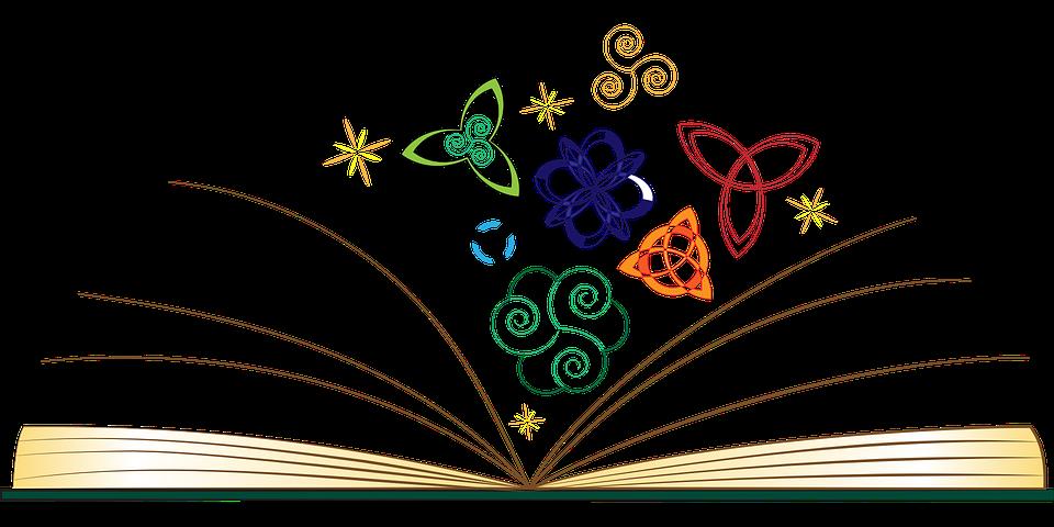 Livre Ouvert Mythologie Images Vectorielles Gratuites Sur
