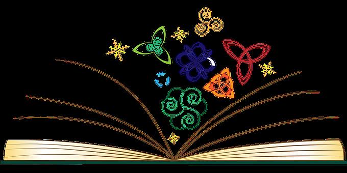 Book Open Mythology Celtic Illuminati