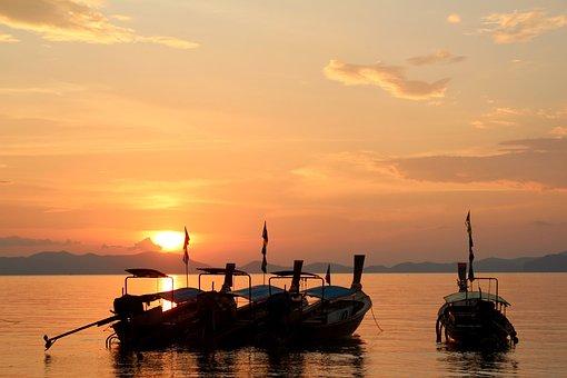 Segelboot sonnenuntergang gemalt  Segelboot, Sonnenuntergang - Kostenlose Bilder auf Pixabay