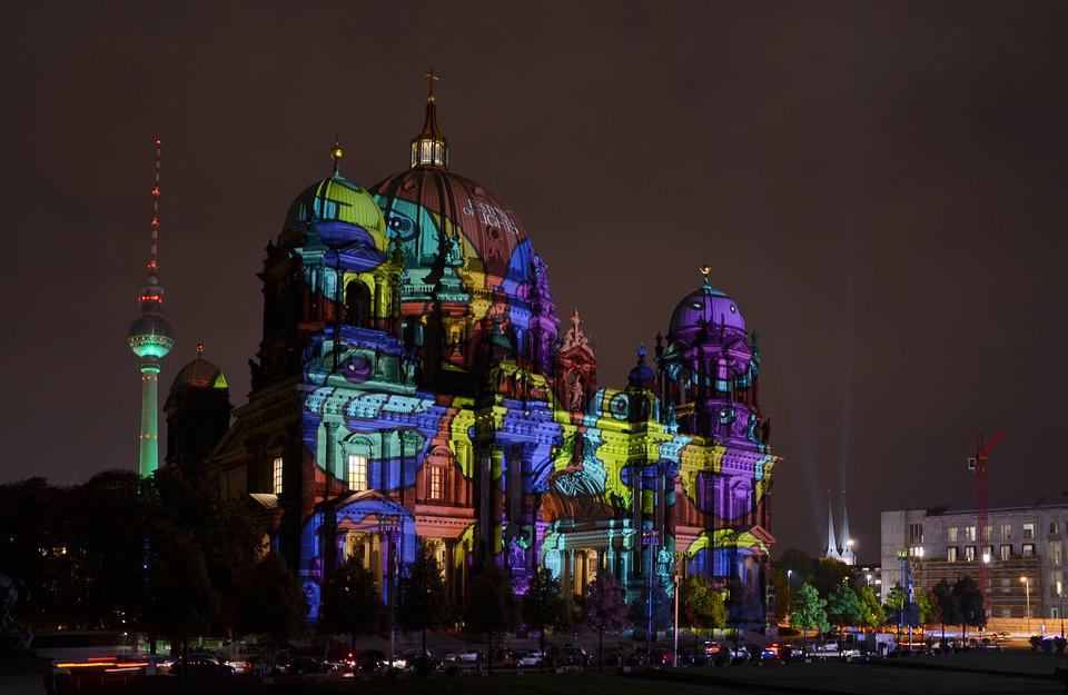 Berlin, Festival Of Lights, Berliner Dom, Dom