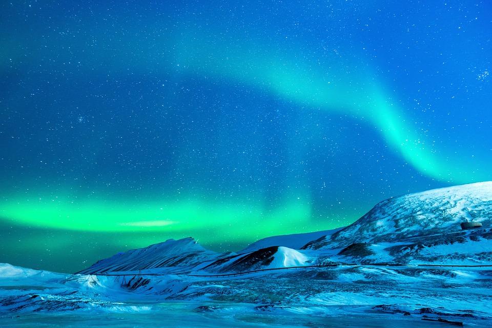 Islanda aurora boreale Noel Bauza la metà imperfetta