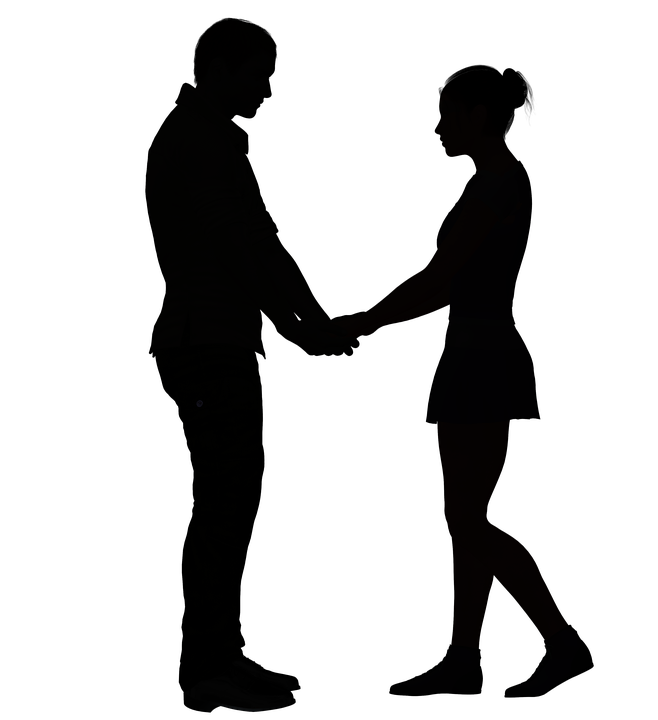 Bathroom Signs Holding Hands free illustration: couple, romantic, love, together - free image