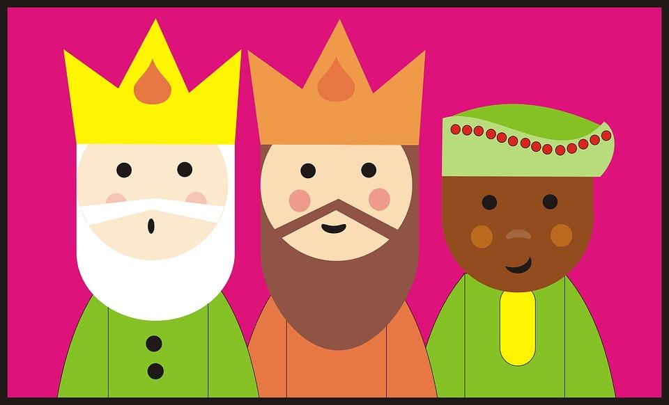 Resultado de imagen de reyes magos  dibujo