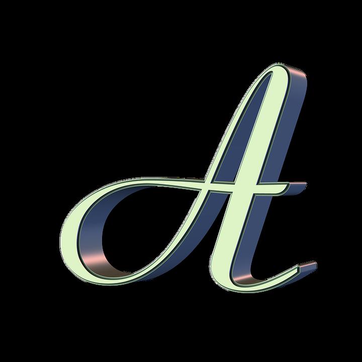 Alphabet Letter Font Fancy Text Capital