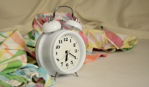 Alarm Clock, Stand Up, Morning, Bed