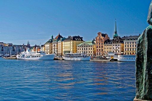 Stockholm, Sweden, Europe, City, Swedish