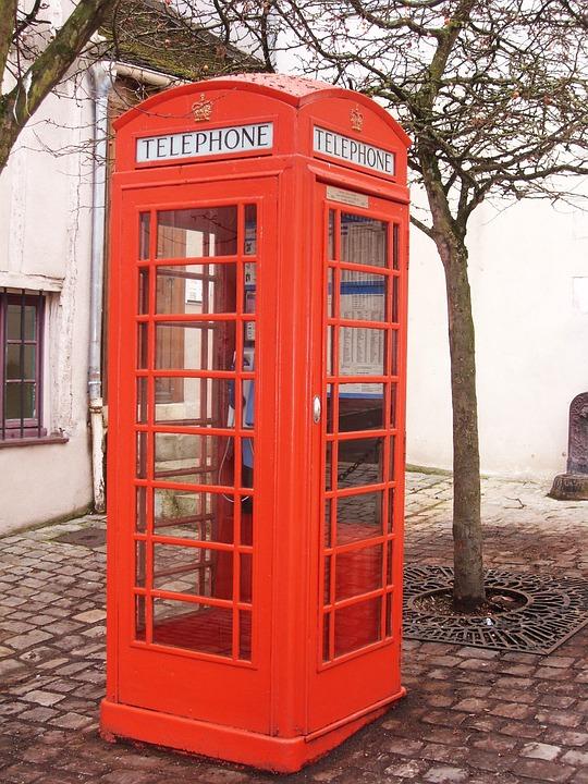 Phone Box English Booth Red - Free photo on Pixabay