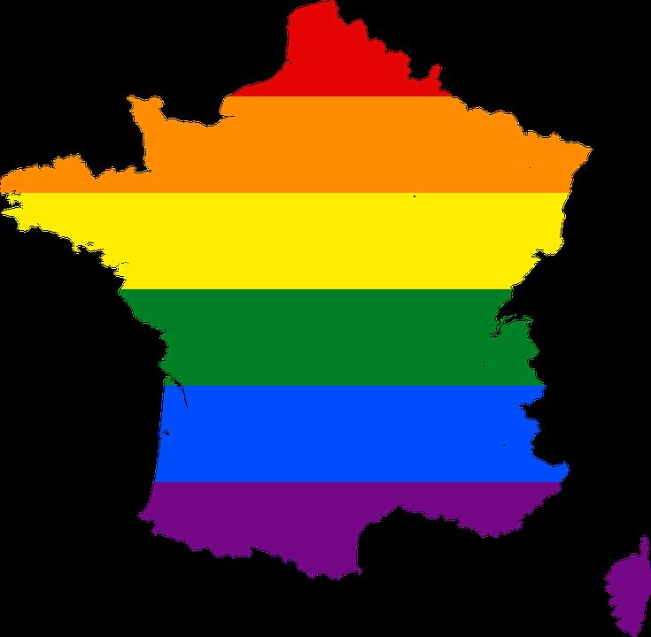 Rainbow Stripes France Symbol Free Image On Pixabay