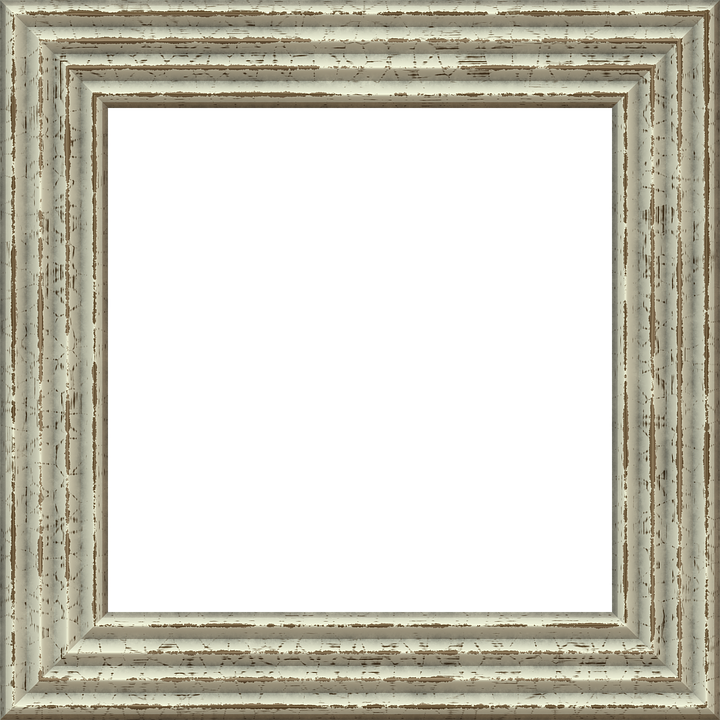 frame picture frame outline mat isolated