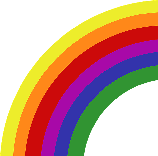 rainbow colors symbol  u00b7 free image on pixabay