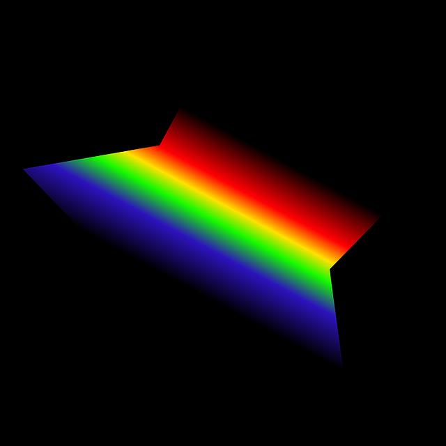 star rainbow color black 183 free image on pixabay