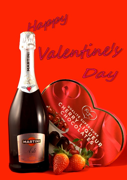 free illustration: valentine's day, champagne - free image on, Ideas