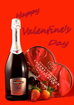 Valentine'S Day, Champagne, Strawberries,124 Free images of Chocolate Day Related Images: Chocolate Love Heart  Valentine's Day  Candy  Hot Chocolate  Romantic  Romance  Valentine  Sweet