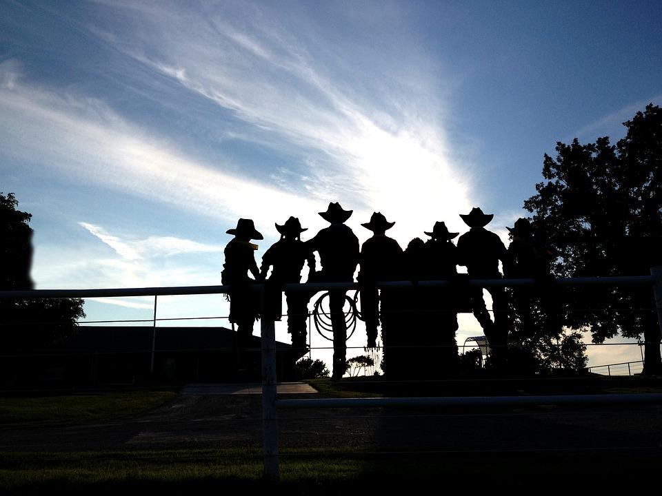 Cowboys Cowgirls Fence · Free Photo On Pixabay