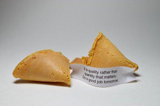 おみくじ入りクッキー, クッキー, フォーチュン, 中国語, メッセージ, 知恵