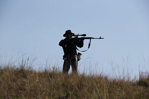 Pistola, Cacciatore, Soldato, Guerra